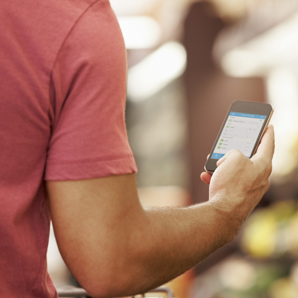 Get product information through your self-scanning device